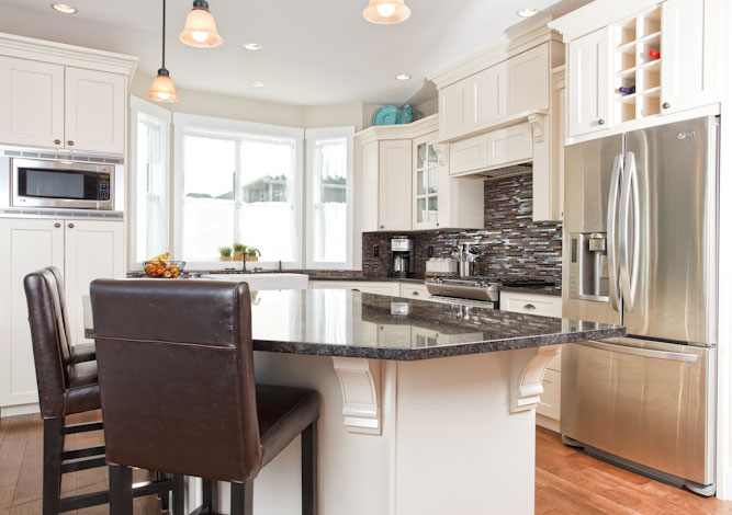 Benchlands Custom Home kitchen.