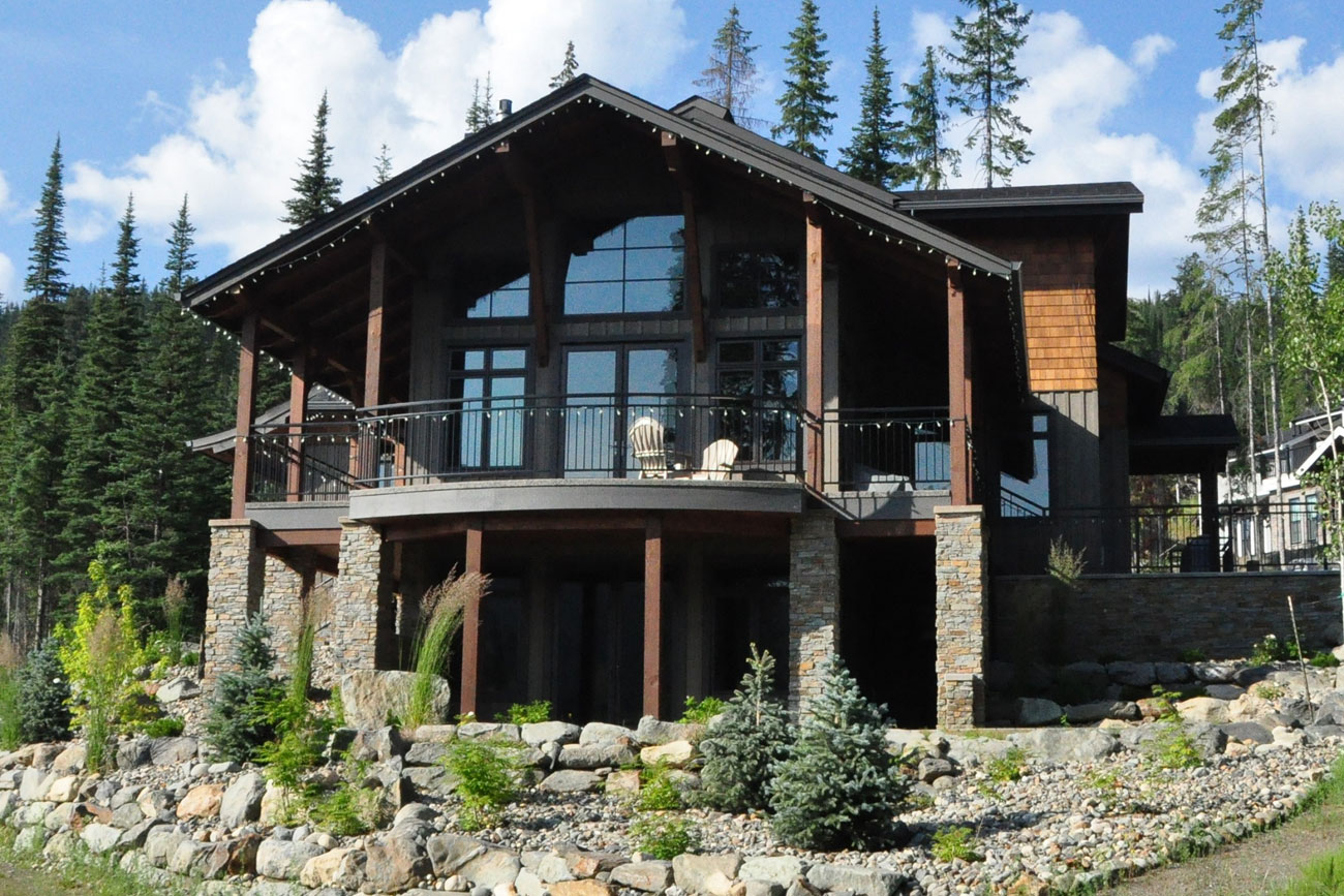 Sun Peaks Mountain Retreat exterior.